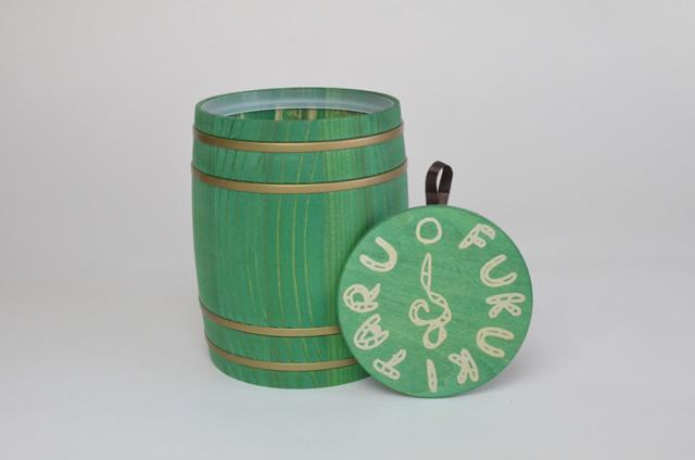 FUKUKITARU ミニ樽 緑