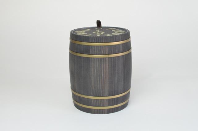 FUKUKITARU ミニ樽 黒
