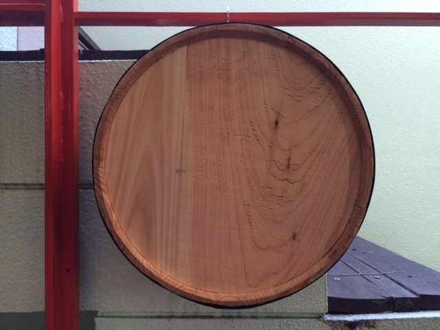 壁掛けカット木樽3N-B 3号サイズ