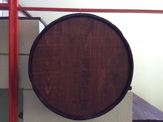 壁掛けカット木樽8M-B 8号サイズ