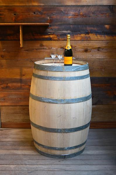 <big><strong>ワイン樽(中古樽)<br/>スペイン産・大タイプ(winebarrels)</big></strong>